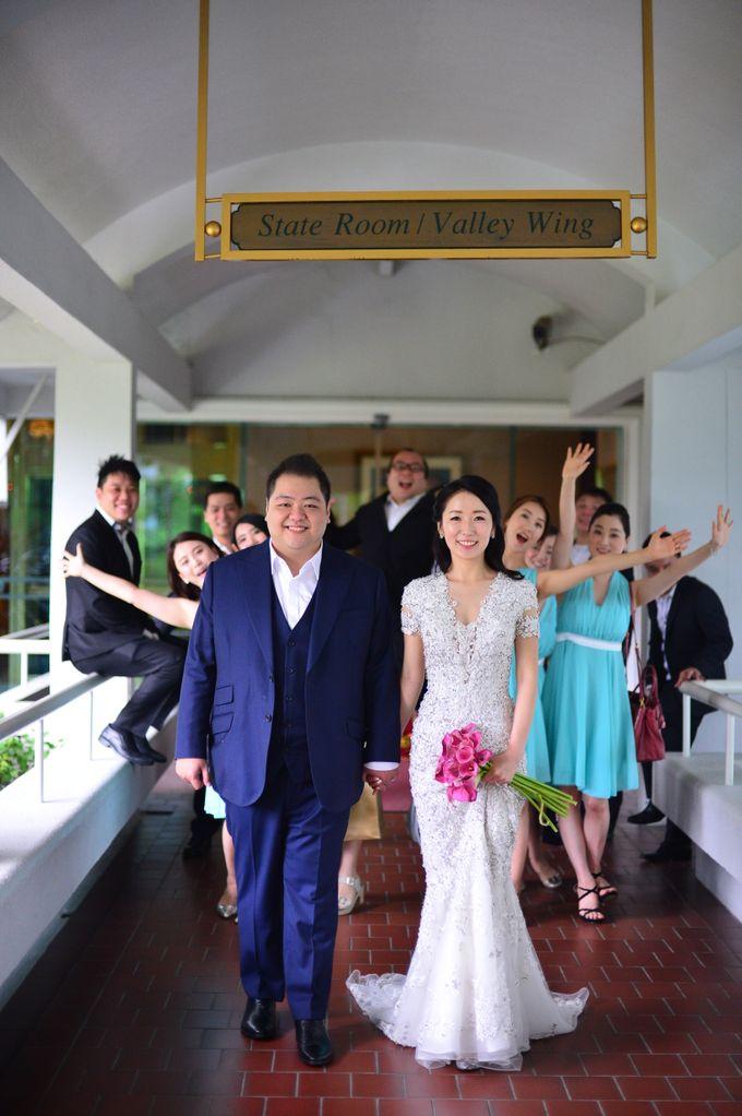 Wedding of Jonathan and Sunghye by Shangri-La Hotel Singapore - 042