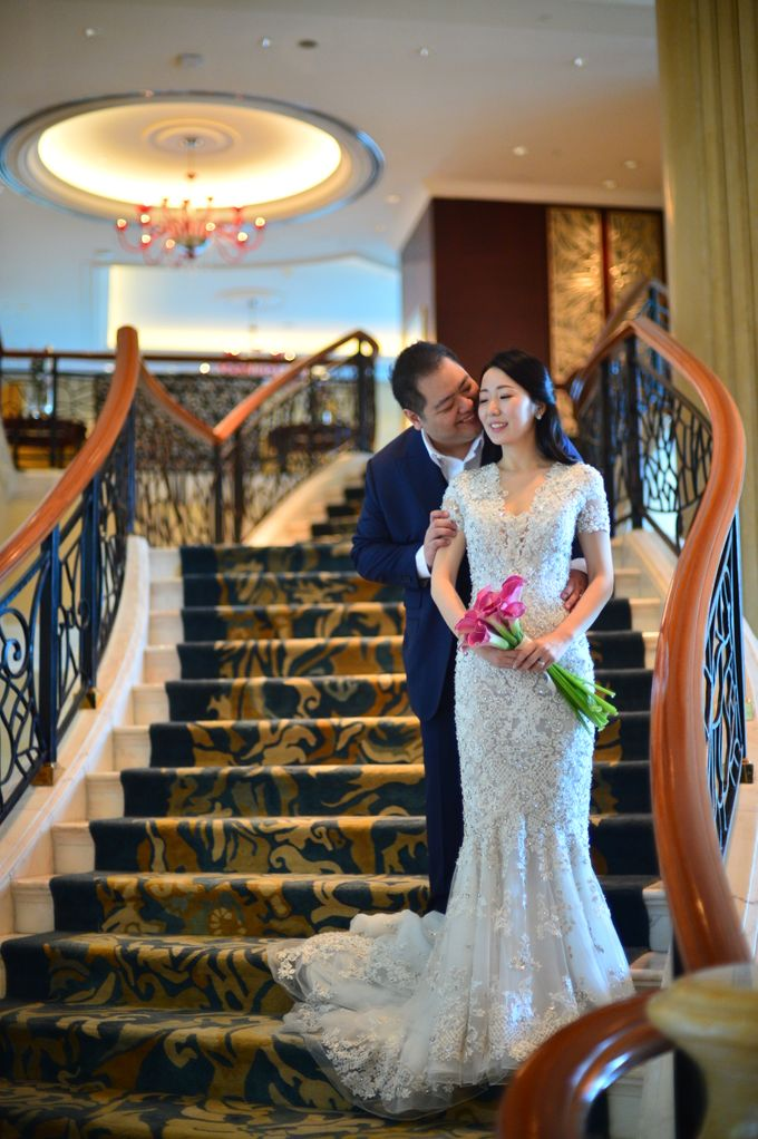 Wedding of Jonathan and Sunghye by Shangri-La Hotel Singapore - 043