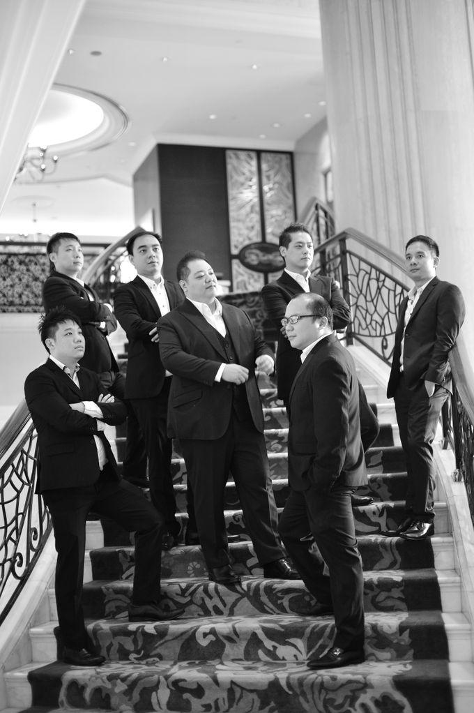 Wedding of Jonathan and Sunghye by Shangri-La Hotel Singapore - 044