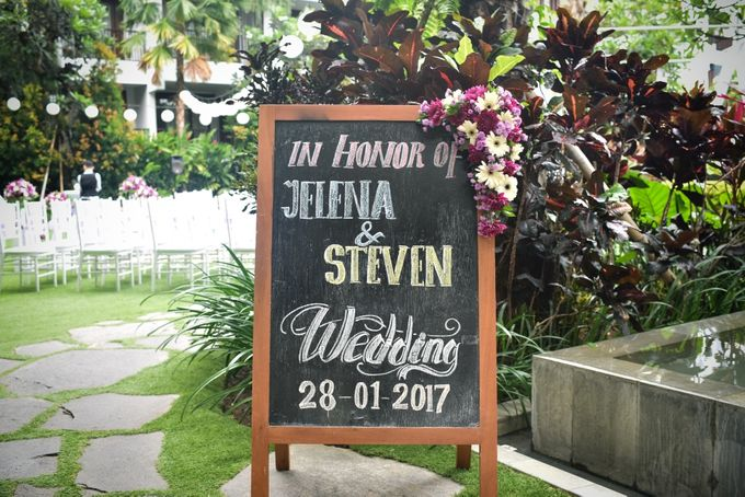 Jelena & Steven Wedding by Courtyard by Marriott Bali Seminyak - 001