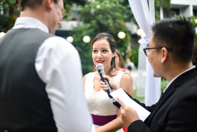 Jelena & Steven Wedding by Courtyard by Marriott Bali Seminyak - 006