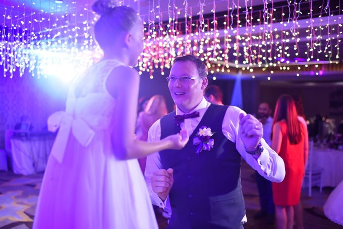 Jelena & Steven Wedding by Courtyard by Marriott Bali Seminyak - 015