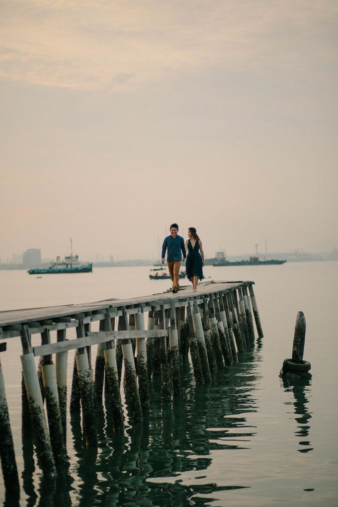 Sunrise Prewedding in Penang by Amelia Soo photography - 022