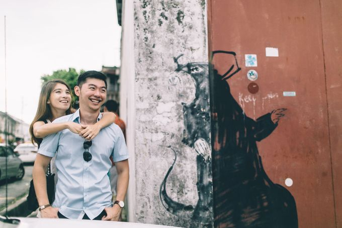 Streetstyle engagement session in Penang 04 by Amelia Soo photography - 023
