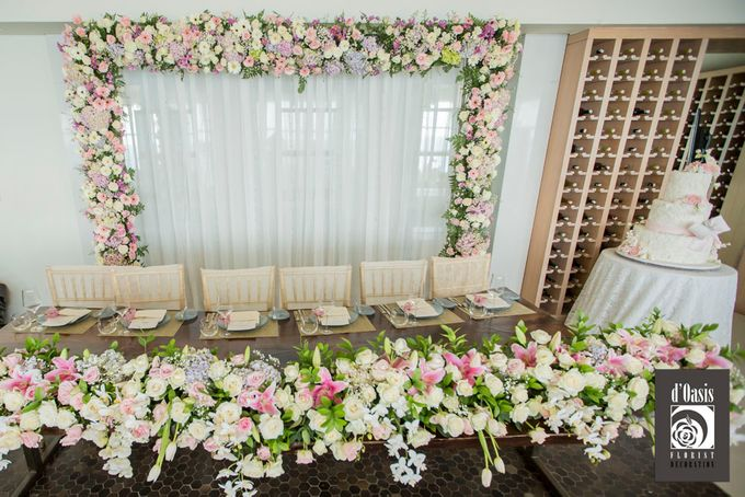 Wedding at Banyan Tree by d'Oasis Florist & Decoration - 003