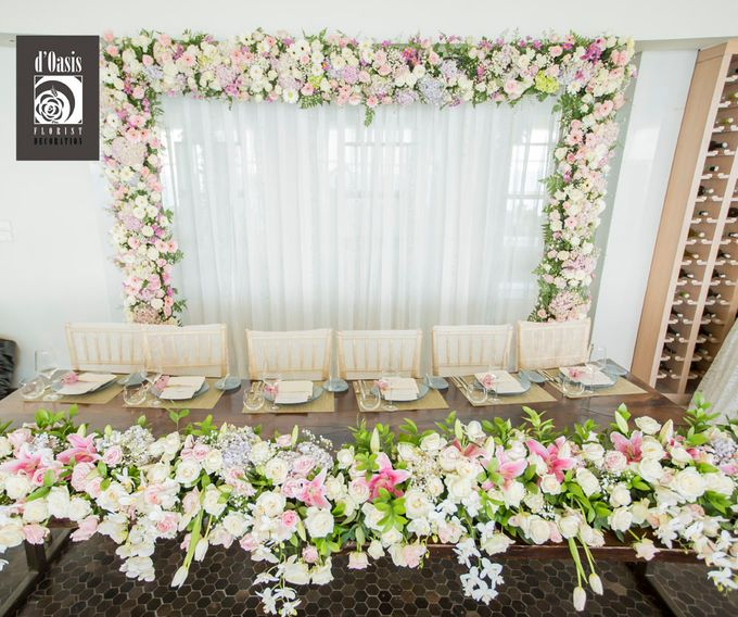 Wedding at Banyan Tree by d'Oasis Florist & Decoration - 004