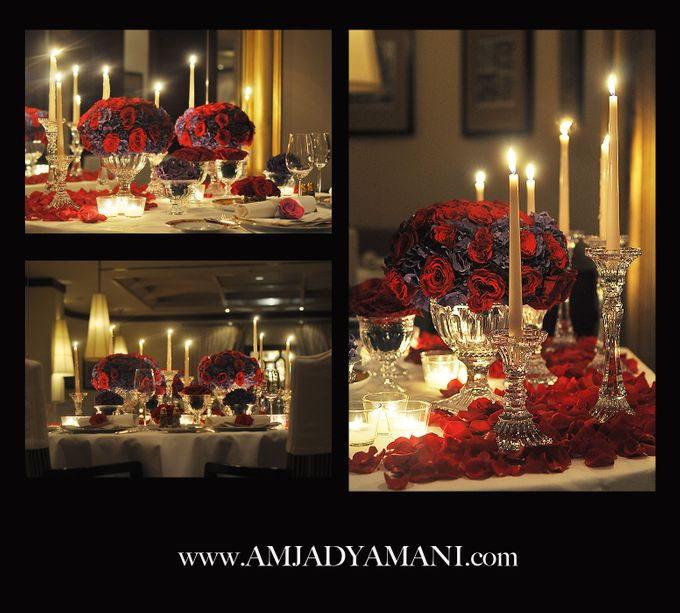 Romantic Dinner by AMJAD YAMANI wedding designer - 001