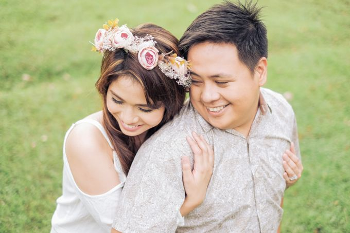 Joushua and Ana Tagaytay Prenup Session by Vintanna Photography - 043