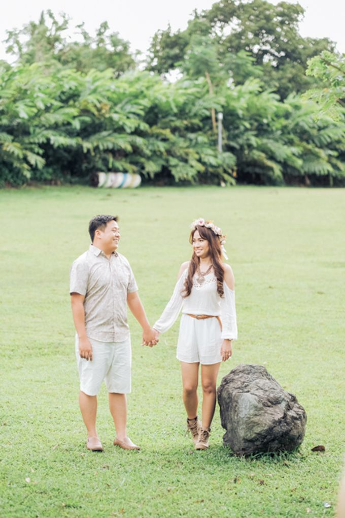 Joushua and Ana Tagaytay Prenup Session by Vintanna Photography - 044