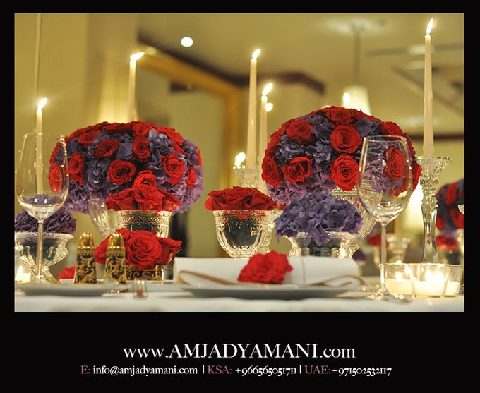 Romantic Dinner by AMJAD YAMANI wedding designer - 002