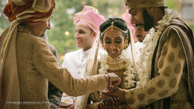 Indian-American Luxury Destination Wedding by Cinemart Motion Picture - 008