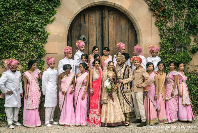 Indian-American Luxury Destination Wedding by Cinemart Motion Picture - 001