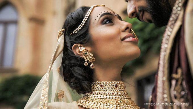 Indian-American Luxury Destination Wedding by Cinemart Motion Picture - 004