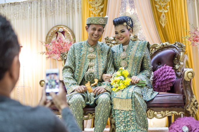 Wedding of Nazira and Jumat by Vanilla House Creations - 004