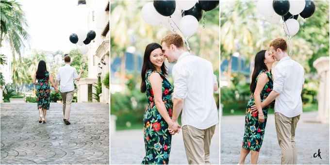 Sarah & James Engagement Portraits by Chester Kher Creations - 008