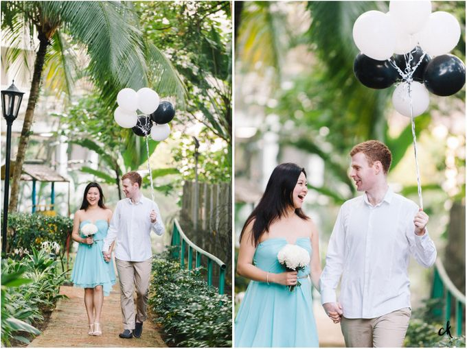 Sarah & James Engagement Portraits by Chester Kher Creations - 001