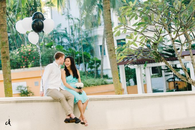 Sarah & James Engagement Portraits by Chester Kher Creations - 003