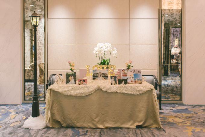 Fairytale Elegant Wedding Day Photography at Shangri-La Hotel by Rosette Designs & Co - 001