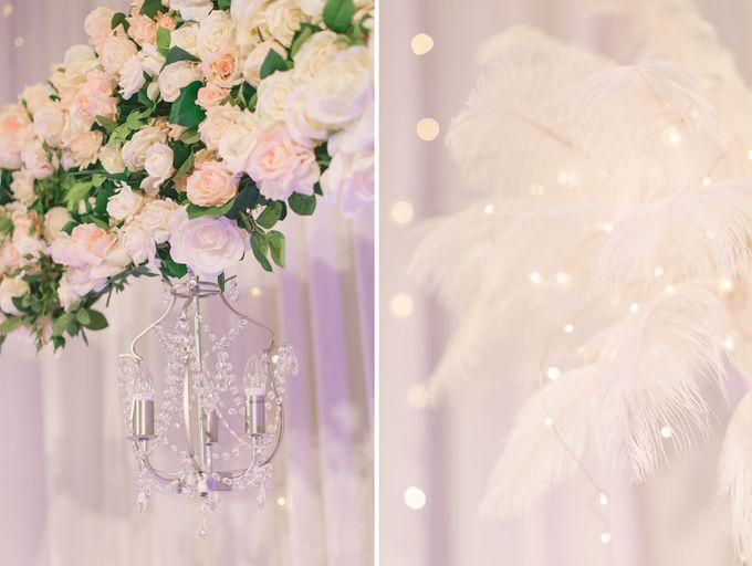 Fairytale Elegant Wedding Day Photography at Shangri-La Hotel by Rosette Designs & Co - 004