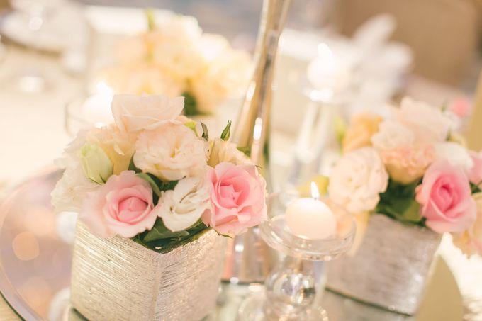 Fairytale Elegant Wedding Day Photography at Shangri-La Hotel by Rosette Designs & Co - 006