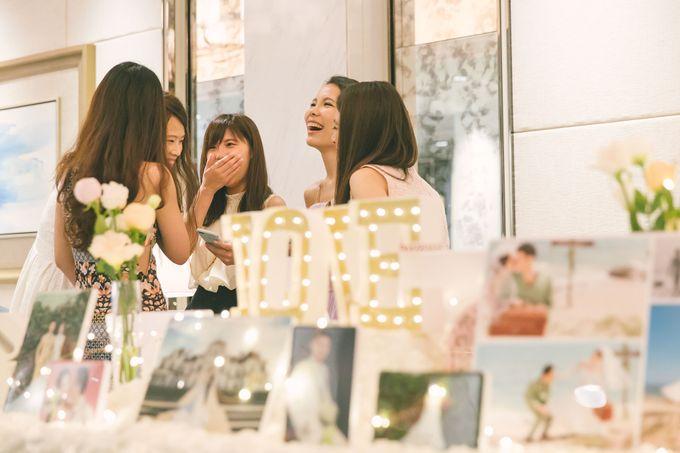 Fairytale Elegant Wedding Day Photography at Shangri-La Hotel by Rosette Designs & Co - 007