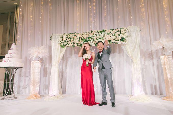 Fairytale Elegant Wedding Day Photography at Shangri-La Hotel by Rosette Designs & Co - 008