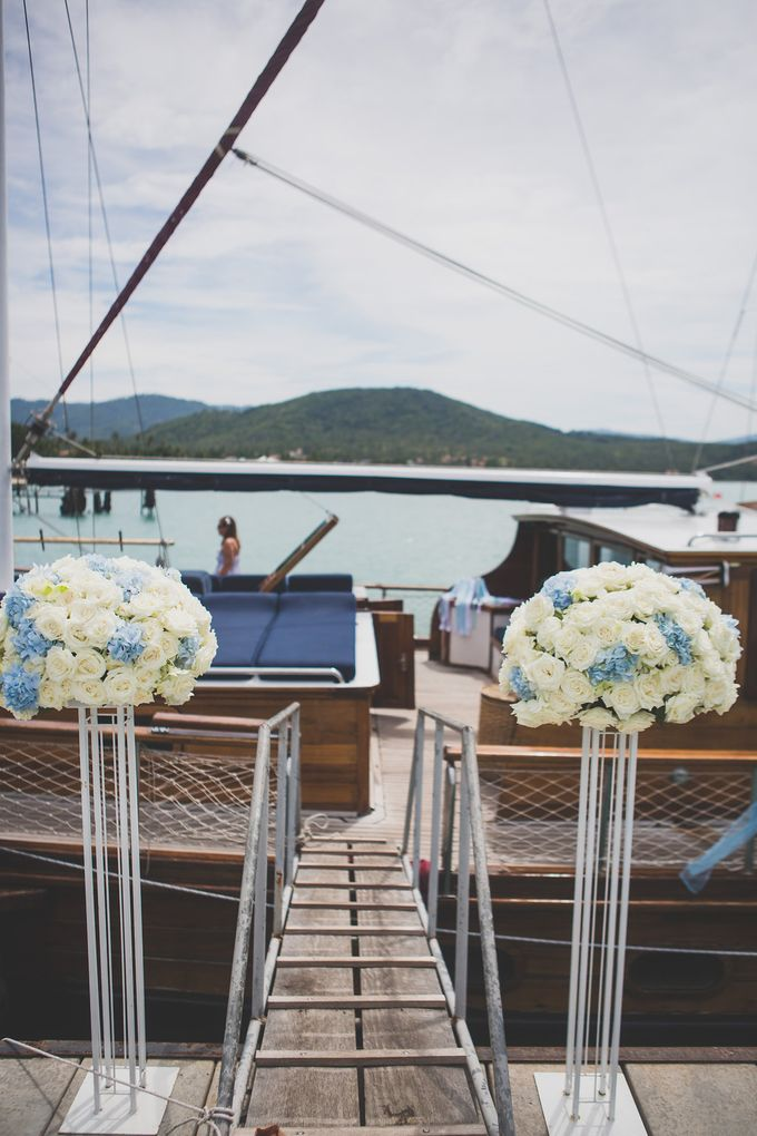 Yacht Wedding by Samui Weddings and Events - 001