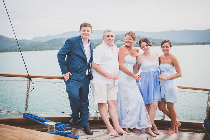 Yacht Wedding by Samui Weddings and Events - 004