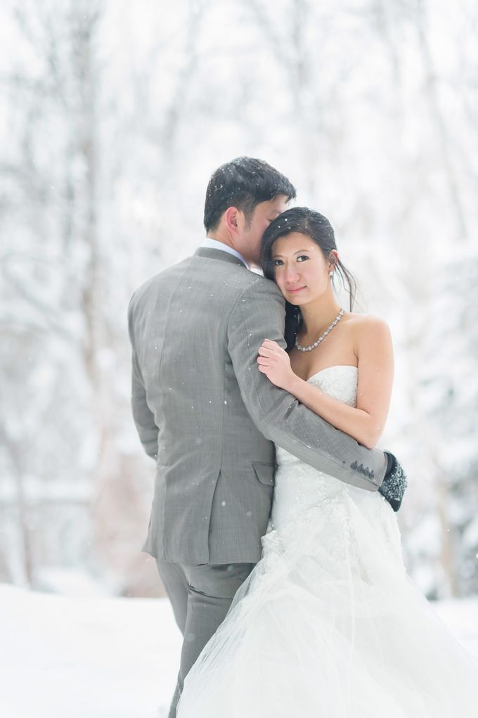 Winter Prewedding Hokkaido, Japan; the Otaru canal,  Niseko slopes by John15 Photography - 010
