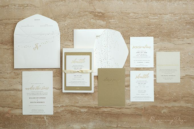 under the stars by bloomingdays invitation studio bridestory com