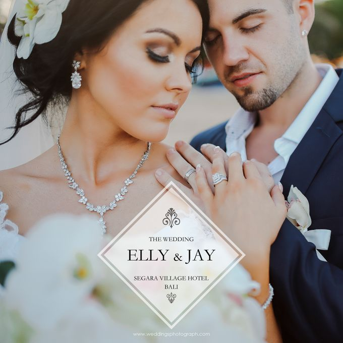 Bali Wedding - Elly and Jay at Segara Village Hotel by The Deluzion Visual Works - 001