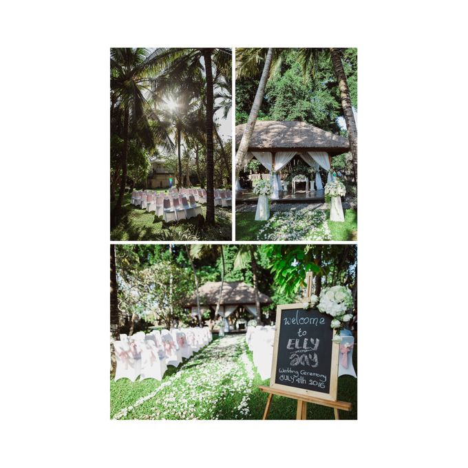 Bali Wedding - Elly and Jay at Segara Village Hotel by The Deluzion Visual Works - 017