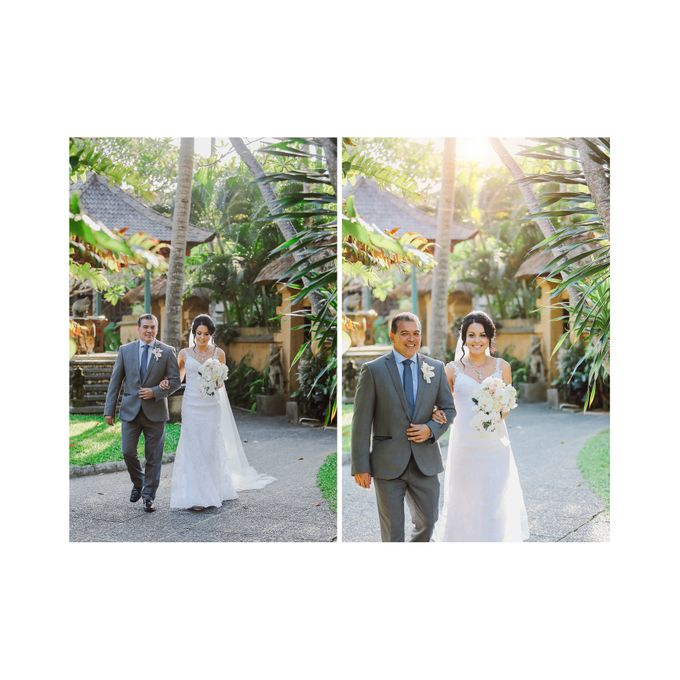 Bali Wedding - Elly and Jay at Segara Village Hotel by The Deluzion Visual Works - 022