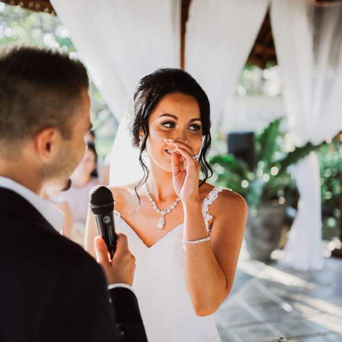 Bali Wedding - Elly and Jay at Segara Village Hotel by The Deluzion Visual Works - 027