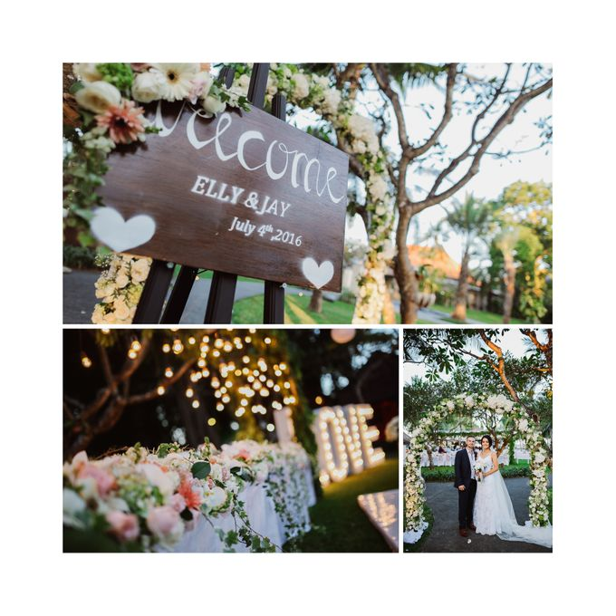 Bali Wedding - Elly and Jay at Segara Village Hotel by The Deluzion Visual Works - 041