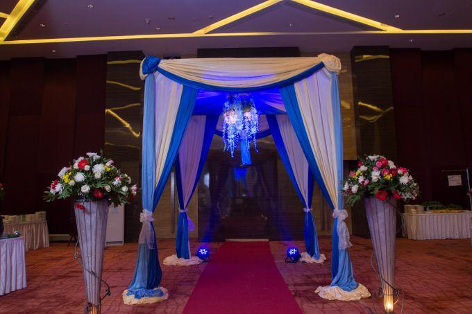 Blue - White Wedding by Menara Top Food Alam Sutera - 006