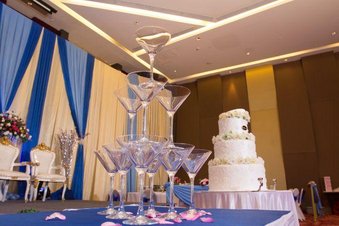 Blue - White Wedding by Menara Top Food Alam Sutera - 007