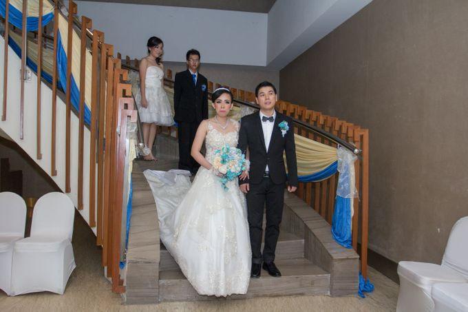 Blue - White Wedding by Menara Top Food Alam Sutera - 001
