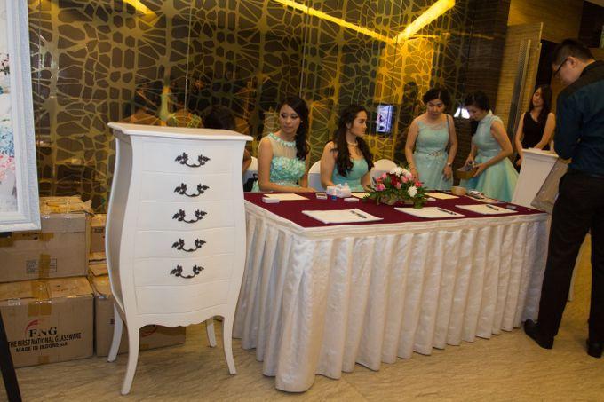 Blue - White Wedding by Menara Top Food Alam Sutera - 002
