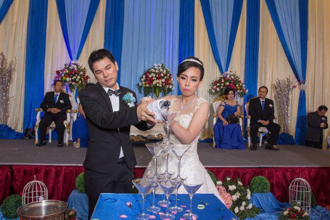 Blue - White Wedding by Menara Top Food Alam Sutera - 004
