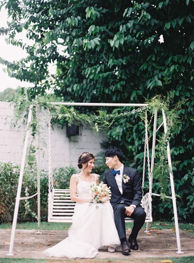 Wedding of Wayne & Liz by Rosette Designs & Co - 015