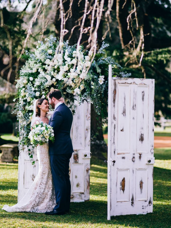 Ceremony and Reception by Affair with George  Florals & Event Styling - 030
