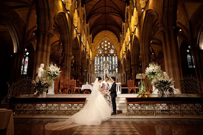 Stunning Wedding at Sergeants Mess by Couture Wedding Planning - 012