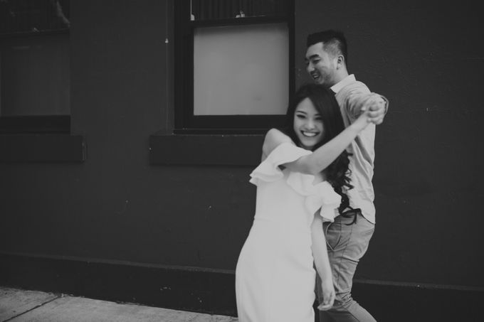 Jimmy & Sylvia Sydney Engagement Session by Calia Photography - 020
