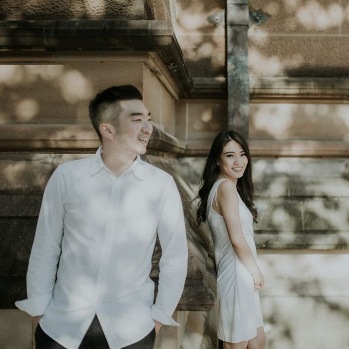 Jimmy & Sylvia Sydney Engagement Session by Calia Photography - 002