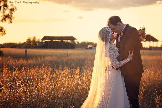 Vintage Country Wedding by Ben Clark Photography - 020