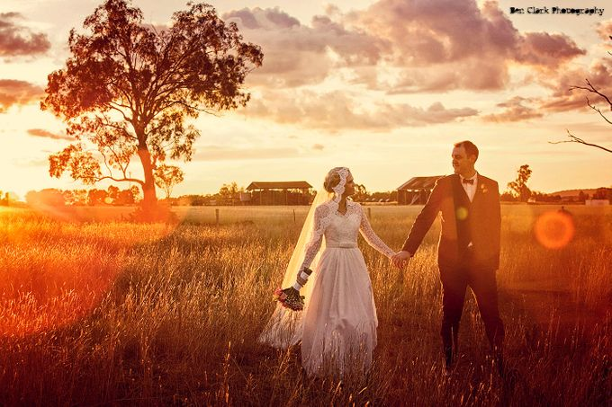 Vintage Country Wedding by Ben Clark Photography - 006