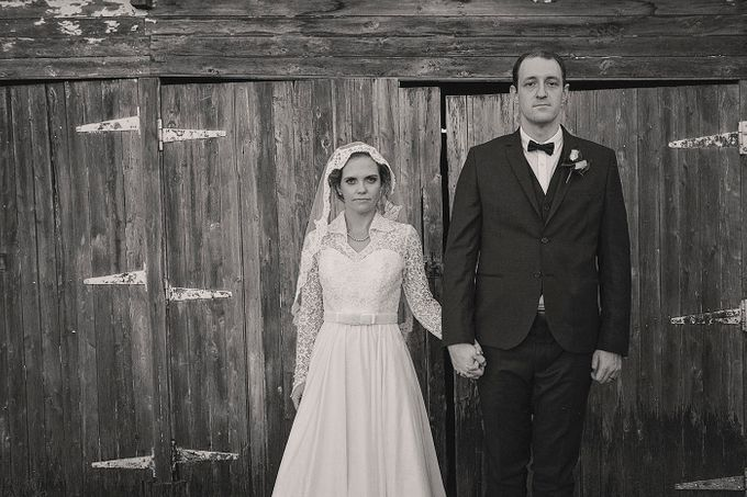 Vintage Country Wedding by Ben Clark Photography - 005