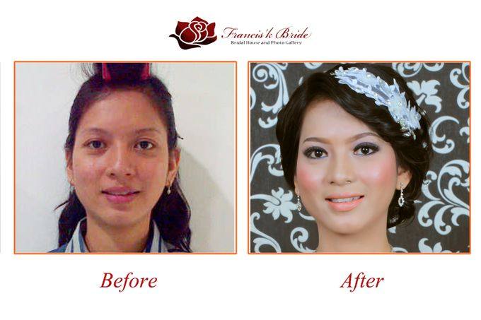 Before - After Make Up by Francis'k Bride - 008