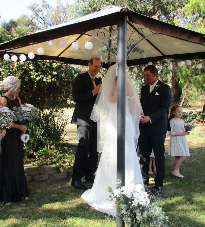 Spring Wedding in an Australlian Landscape by Aussie Marriages - Marriage Celebrant - 002